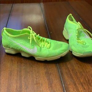Nike Flyknit Zoom cross training shoes
